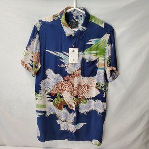 Globe Honshu Button up Shirt NWT  Medium